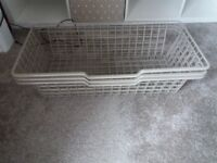 3 Ikea in cupboard Baskets £12.00