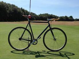 Charge Plug Fixie Bicycle