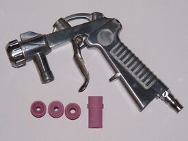 SandBlast Sandblaster Sandblasting Gun Replacement 4 Ceramic Nozzle 4,5,6,7 mm