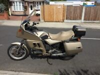 BMW K100LT touring motorbike for sale with Full fairing and luggage