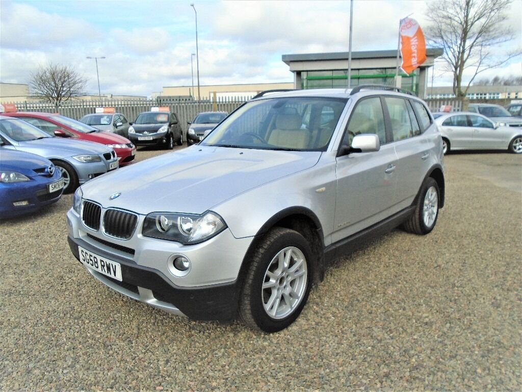2008 bmw x3 2 0 20d se xdrive 5dr only 1 owner from new