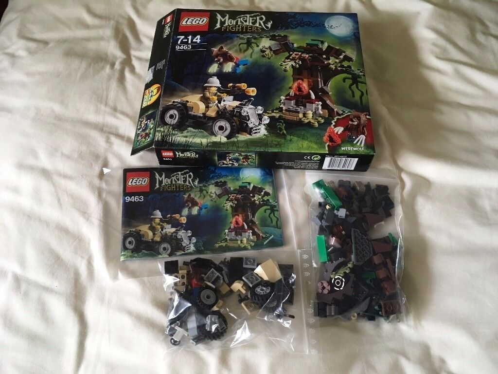 LEGO 9463 Monster Fighters - The Werewolf Set (Used)