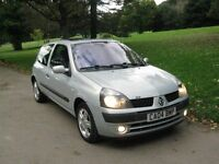 RENAULT CLIO 1.2 16V DYNAMIQUE 3 DOOR 2004 NOW REDUCED