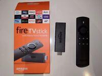 Amazon FireTV Stick with Alexa voice remote