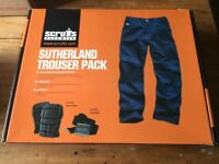 Sutherland blue trouser pack