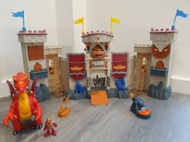 Castle & Dragon by Imaginext Fisher Price