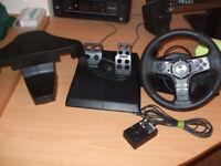 Logitech Driving Force EX Steering Wheel