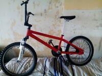 BMX (XRATED MESH) 20 INCH WHEELS,SUSPENSION FORKS,DISC SPEC,GREAT FOR SKATE PARK,EXC CON, £35