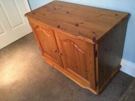 Solid Pine Cupboard Height 26in/66cm Width 36.5in/92cm Depth 18in/46cm