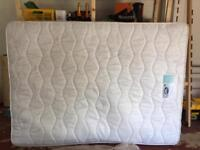 Double mattress (Silent Night Miracoil). White, in good condition