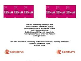25% off Tu Clothing this week at Banbury