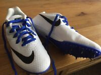 Nike Zoom Rival running spikes. Size 4.