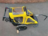 Bumper Solo Bike Trailer in excellent condition & fully cleaned