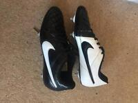 Nike Tiempo SG football boots size 8