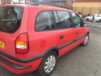 AUTOMATIC VAUXHALL ZAFIRA ** 7 SEATER FULL YEAR MOT GOOD CONDITION
