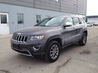2014 Jeep Grand Cherokee Limited   Leather  Roof  Power Liftgate
