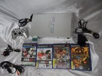 Sony Silver PS2 Playstation 2