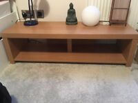 Wooden TV stand/floor shelf - £5