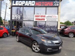 2013 Acura TL Tech,Awd,Navi,Camera,Sunroof,Leather*Certified*