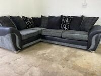 Grey dfs corner sofa, couch, suite, furniture 🚚WE ARE STILL DELIVERING🚛