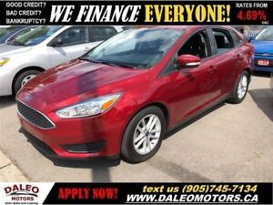 2015 Ford Focus SE| BACKUP CAM| HEATED SEATS| BLUETOOTH