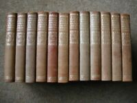 EVERYMAN ENCYCLOPEDIA - 1913 EDITION - 12 VOLUMES, EXCELLENT CONDITION
