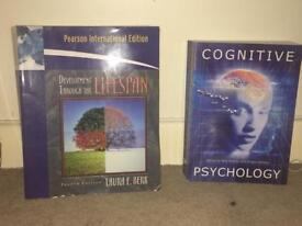 Psychology & sociology books for sale