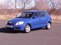 SKODA FABIA 16V AUTOMATIC 5 DOOR 12 MONTHS M.O.T 6 MONTHS WARRANTY (FINANCE AVAILABLE)