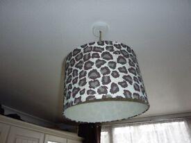 Leopard Print Lampshade