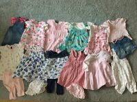 Girls 0-3 Months Bundle of Clothes