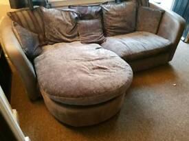 L shaped 3 seater sofa