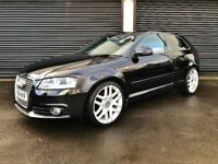 2008 AUDI A3 S LINE 2.0 TDI 140 3 DOOR NOT A1 A4 VW GOLF SEAT LEON CIVIC TYPE R ASTRA BMW 320D CLIO