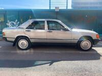 1987 silver Mercedes 190E 2.0l petrol automatic 4 door saloon, 12 months mot FSH Sunroof!