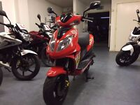 Beeline Veloce GT 50cc Automatic Scooter, 2011 Model, Red, V Good Condition, 1 Owner