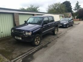 2000 Toyota Hilux Double Cab Pick Up