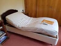 Adjustable Mobility Bed - Single (with mattress)