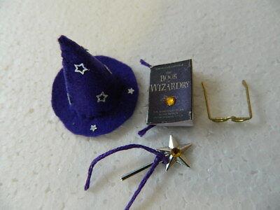 OT3–Dolls house handmade Wizard set