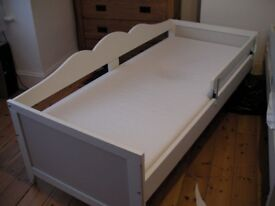 Two IKEA Hensvik Childrens Beds and One Oeuf Toddler Bed