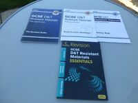 GCSE D & T Resistant Materials Revision materials, brand new never opened