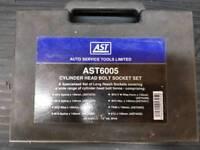 Ast6005 cylinder head bolt socket set £20 O.N.O