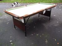 6 X 3 SNOOKER/POOL TABLE