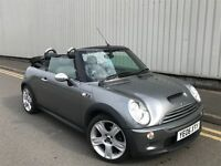 MINI COOPER S CONVERTIBLE 1.6 SUPERCHARGED 2006 06