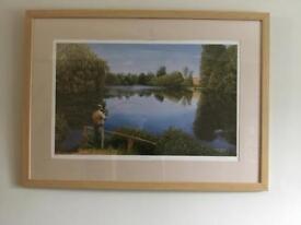 Chris Yates fishing at redmire