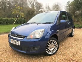 2007 Ford Fiesta 1.25 Zetec Climate Cambelt Replaced NEW MOT Auto Lights Folding Mirrors New Brakes