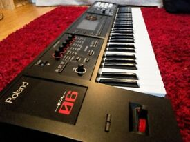 Roland FA-06 61 Note Workstation Synthesizer - As New Condition with Gigging Case and Pedal