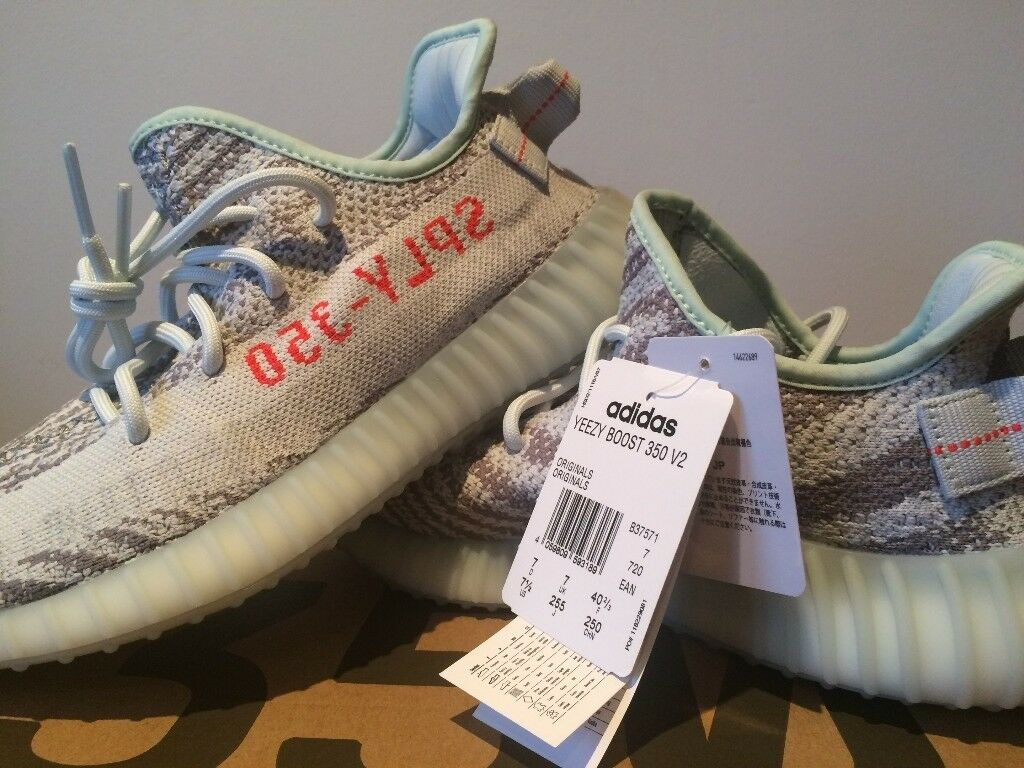 Genuine Brand New With Tags Adidas Yeezy 350 Boost V2 2 0 Blue Tint