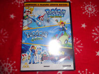 Brand New Pokemon DVD X 3 Movies