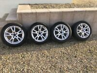 Genuine BMW Alloys 8J x 17 came off my X3 but fit various vans