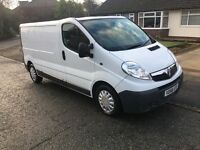 Vauxhall Vivaro long wheel base 2007