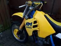 Suzuki rm evo 250 1989 swaps px